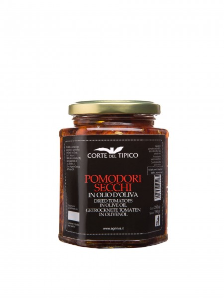 Pomodori secchi in olio d'oliva, Vasetto, 290 g - Agraria Riva del Garda