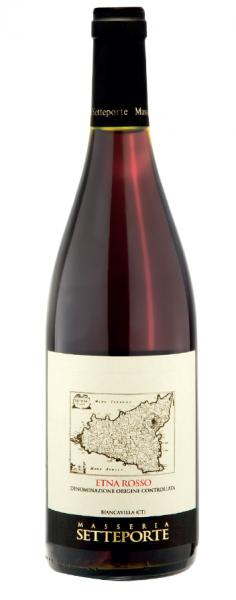Etna Rosso DOC 2015 BIO - Tenuta Masseria Setteporte