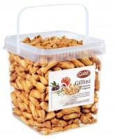 Gillini Gourmet mit Tomate, Oliven und Oregano - feine Mini-Blätterteigstangen, zum Aperitif, 1 Kg