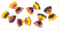 Schmetterlingsnudeln in den Farben der Deutschen Flagge 250 g - Marabotto