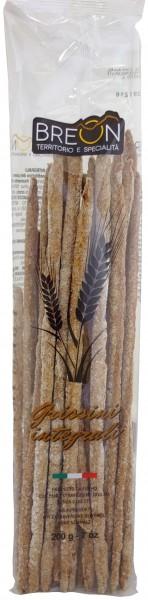Breon Vollkorn Grissini - Brotstangen aus Vollkornmehl, 200g