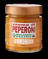 Süße Bio Paprikacreme, Vegan, 190g - Alicos