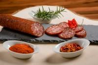Salame alla zingara piccante ca. 230g - Macelleria Mair