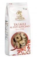 Taralli Peperoncino - klassische Bagels aus Italien, 500g - Fiore di Puglia