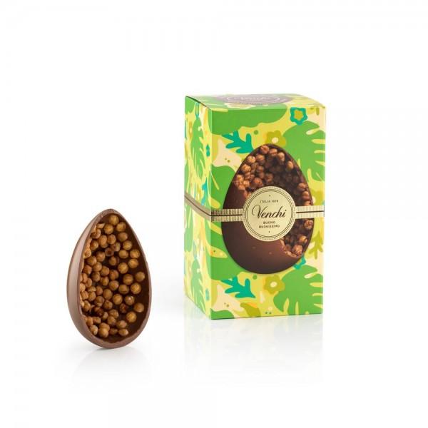Osterei aus Milkschokolade und Piemontesischen Haselnüssen, 540 g - Venchi 1878