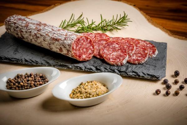 Metzgerei Mair - Wildschwein - Salami, vakumiert ca.230g