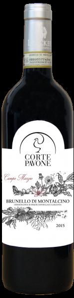 """Brunello di Montalcino """"Campo Marzio"""" DOCG 2015 - Weingut Tenuta Corte Pavone"""