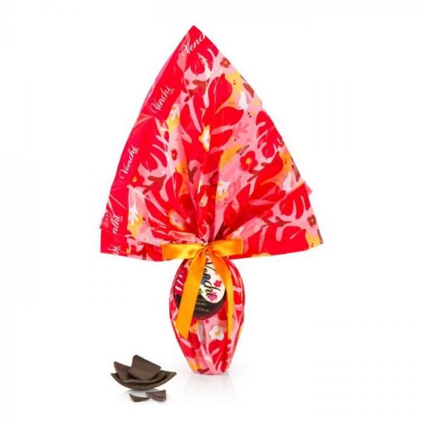 """Uovo di Pasqua """"Exotic"""" al cioccolato fondente, 220 g. - Venchi S.p.A."""