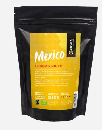 """Kaffee Arabica """"Mexico Chiapas Unión Ramal de Santa Cruz"""", Ganze Bohnen"""