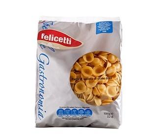 Felicetti Orecchiette Speciale Gastronomia Grano Duro - Öhrchen Nudeln aus Hartweizengrieß, 1kg