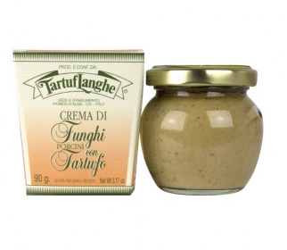 Crema di funghi porcini e Tartufo 30g o 90g - Tartuflanghe